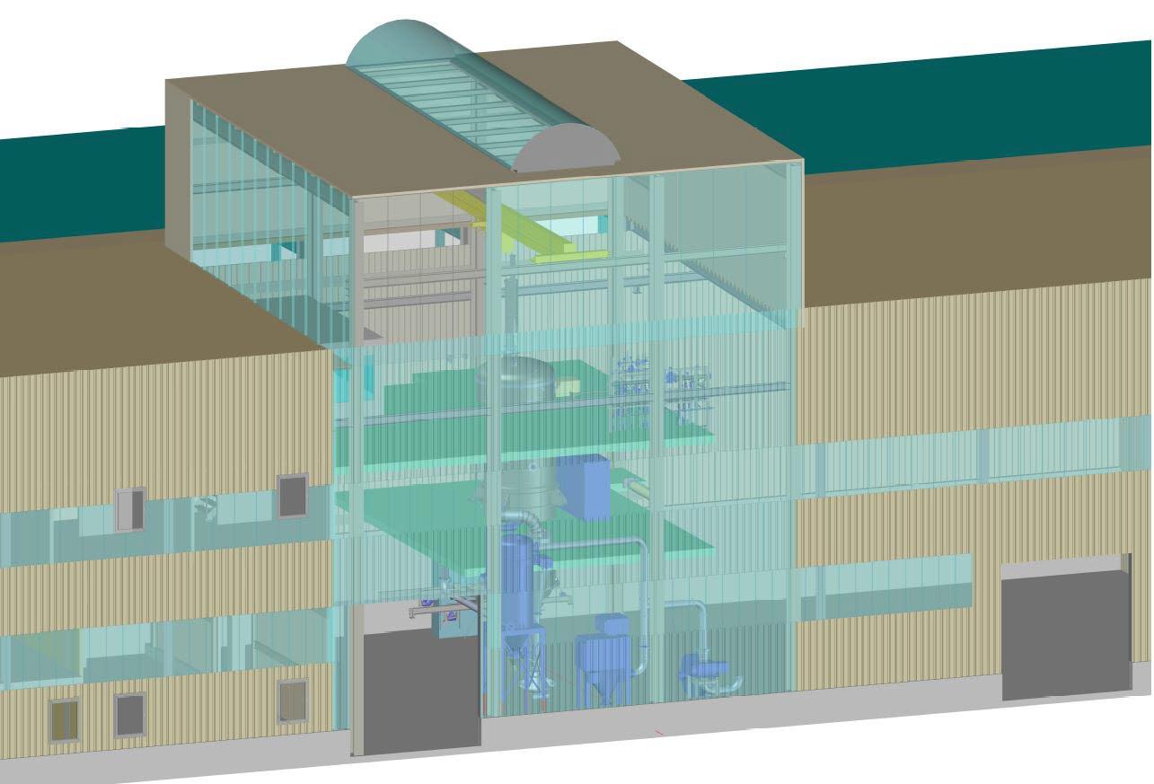 Atomizing Plant Laufenburg Germany