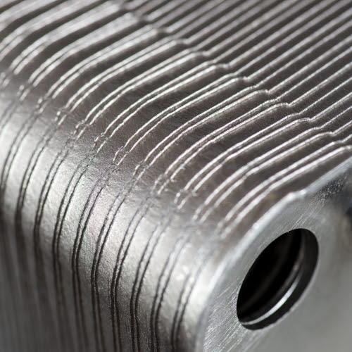 Detail of heat exchanger