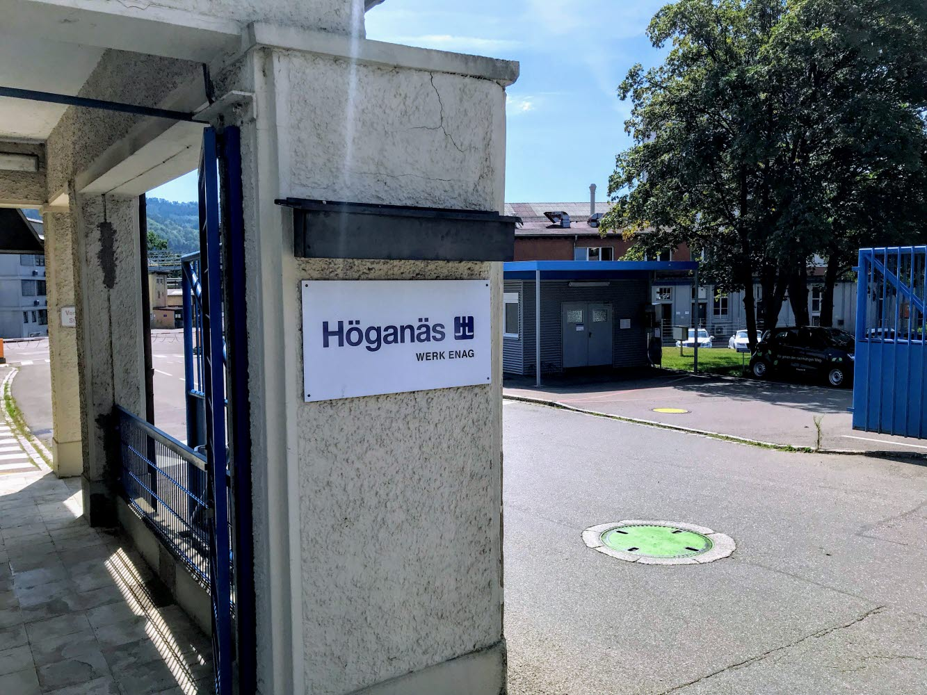 Höganäs site gate in Laufenburg