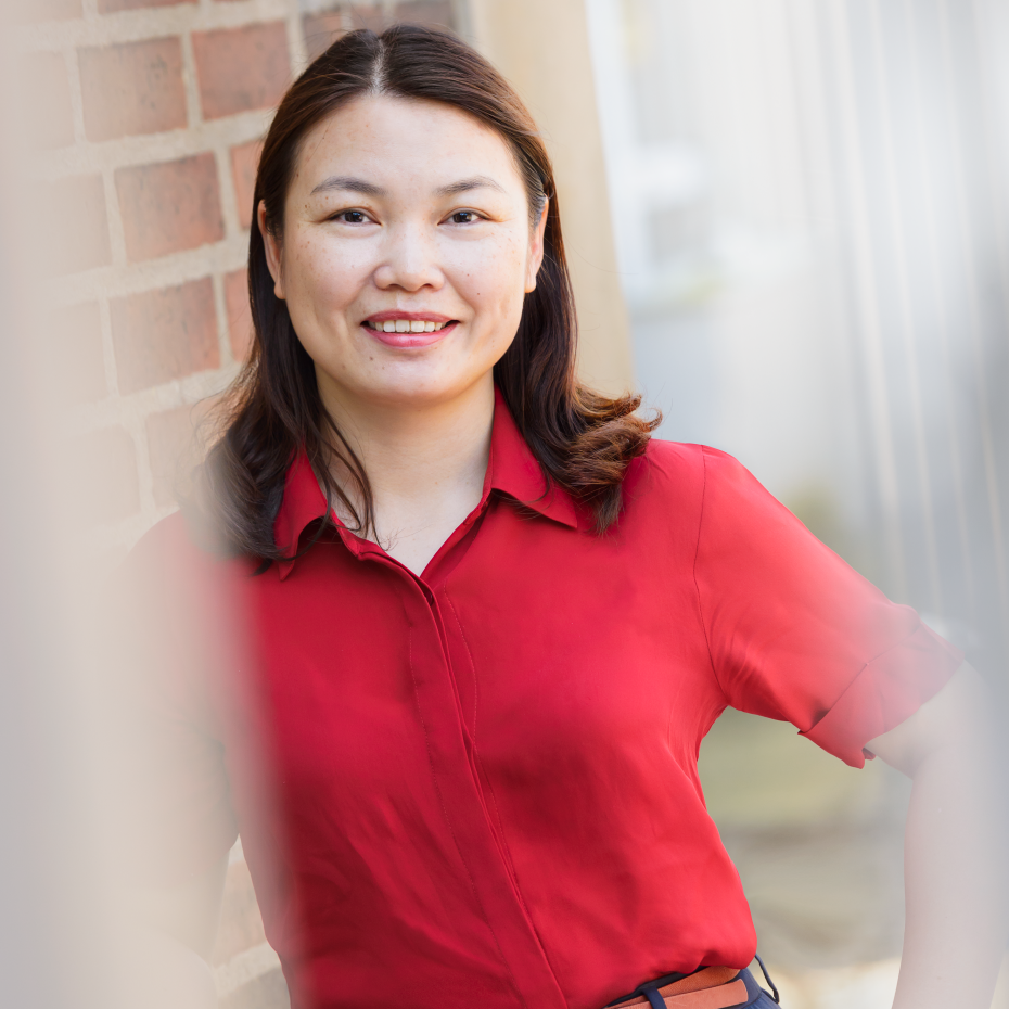 Louise Chen, materials engineer