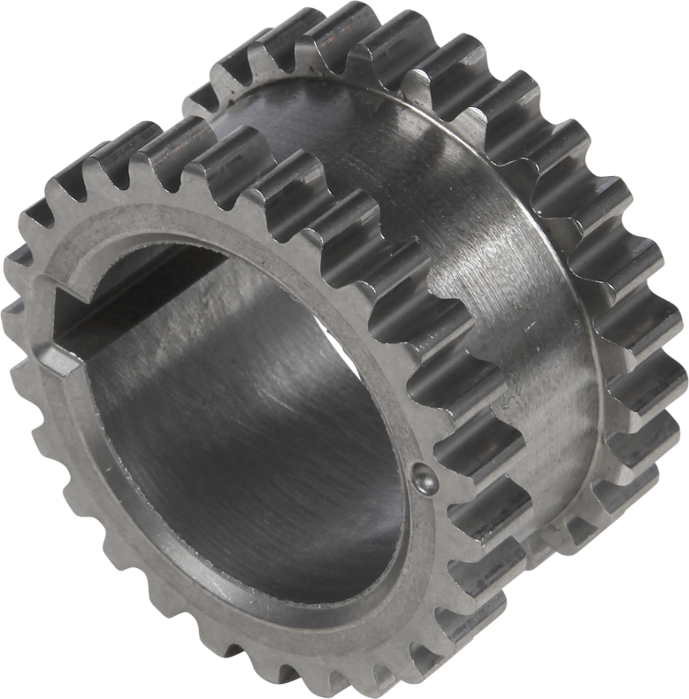 Crank- and camshaft sprockets