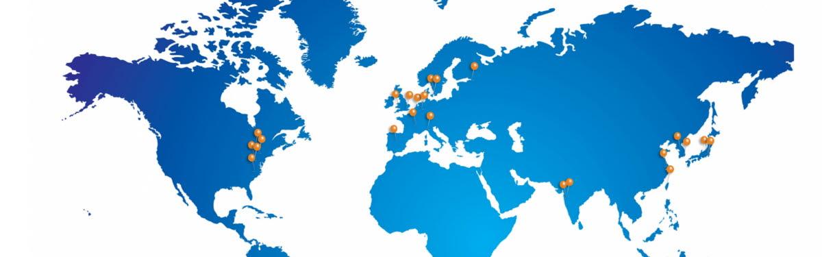 Höganäs足迹遍布全球