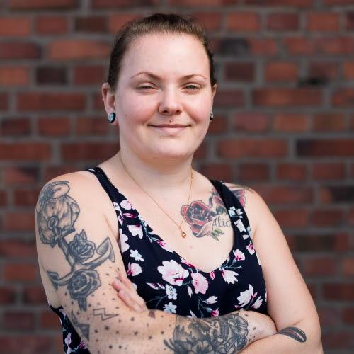 Johanna Fischer, trabalhadora de siderúrgica