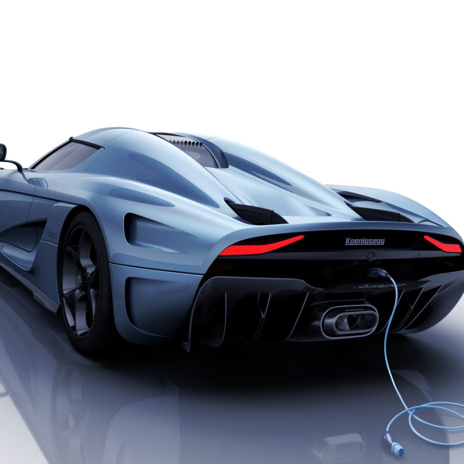 Powering Koenigsegg's 'Regera' car with soft magnetic composites