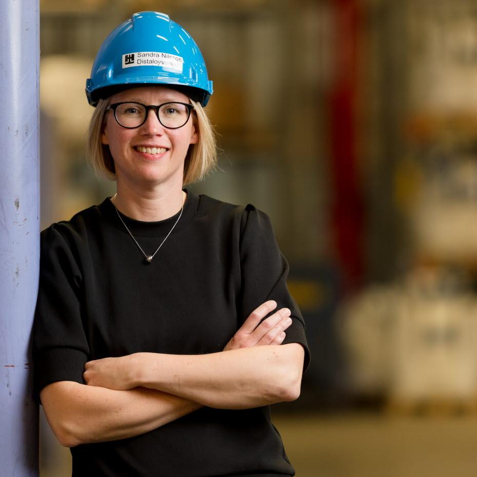 Sandra Nilsson, Hoch- und Tiefbauingenieurin