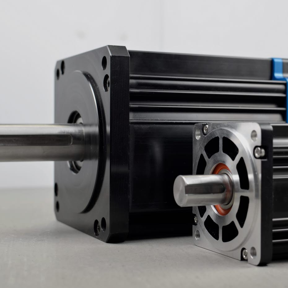 Electric motor solution with soft magnetic composites