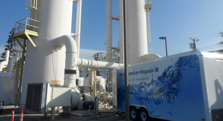 Höganäs technology cleans groundwater contamination in Califonia, USA